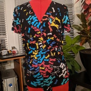 Dragonfly Pattern Top